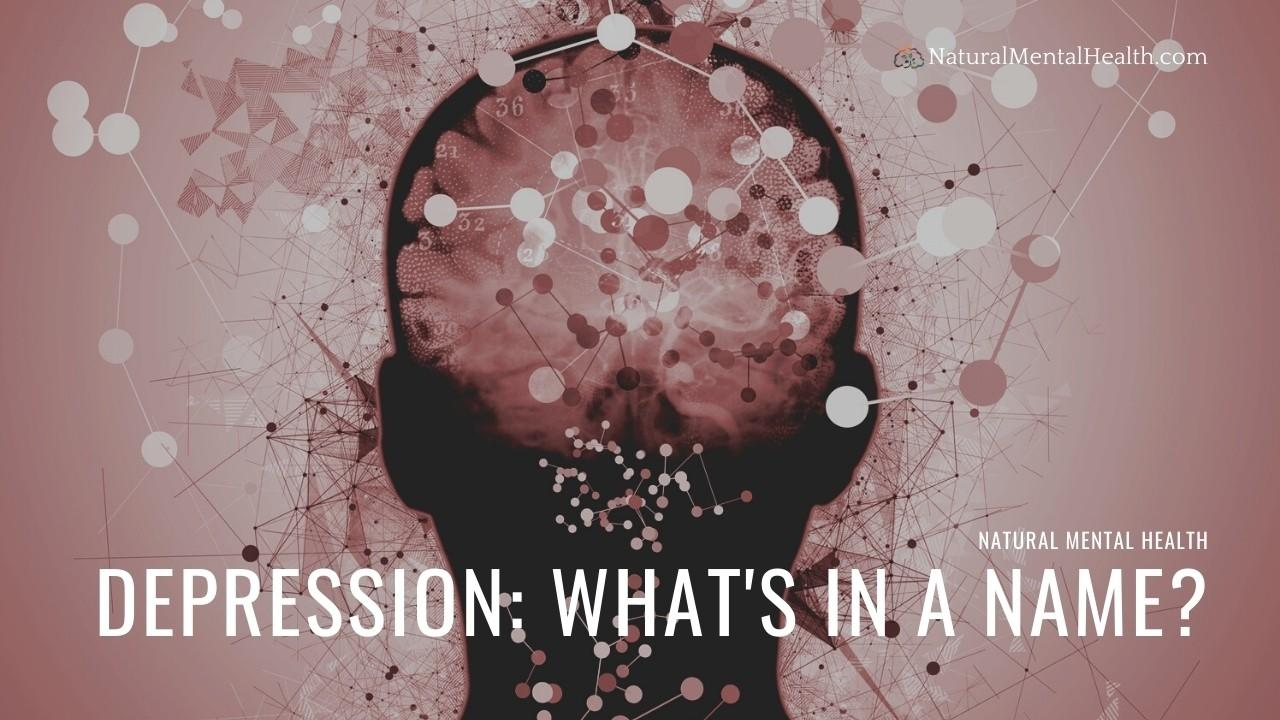 Depression types, diagnosis, and the Natural Mental Health approach
