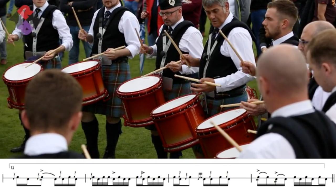 Boghall & Bathgate Caledonia 2017 Drum Corps