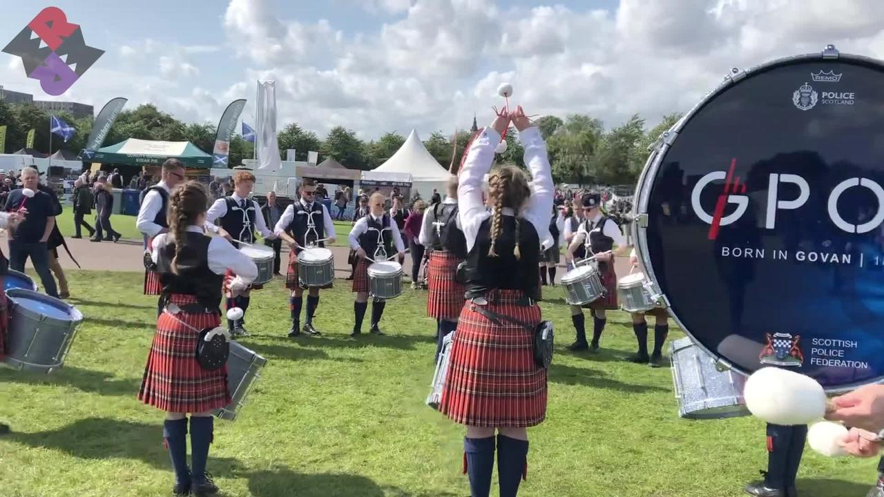 Glasgow Police Drum Corps 2019 WPBC Sat. Full Medley