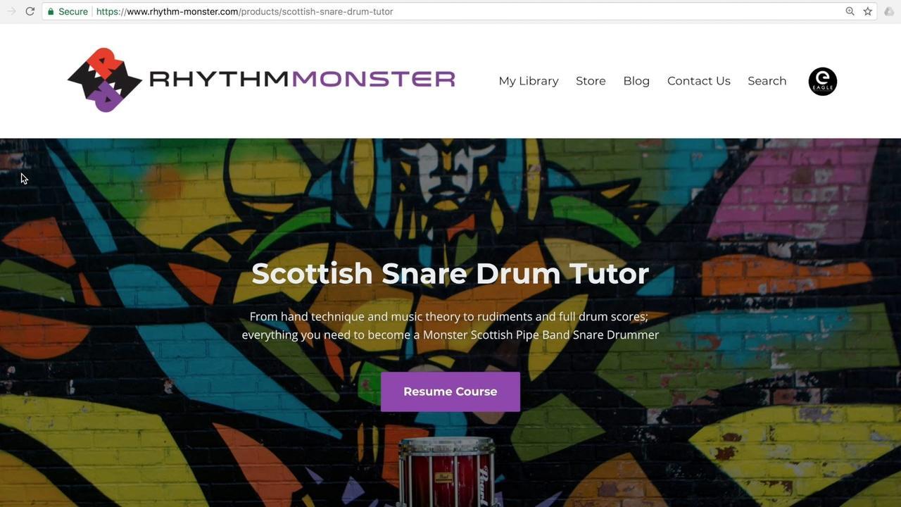 Snare Drum & Music Theory Tutor Tour