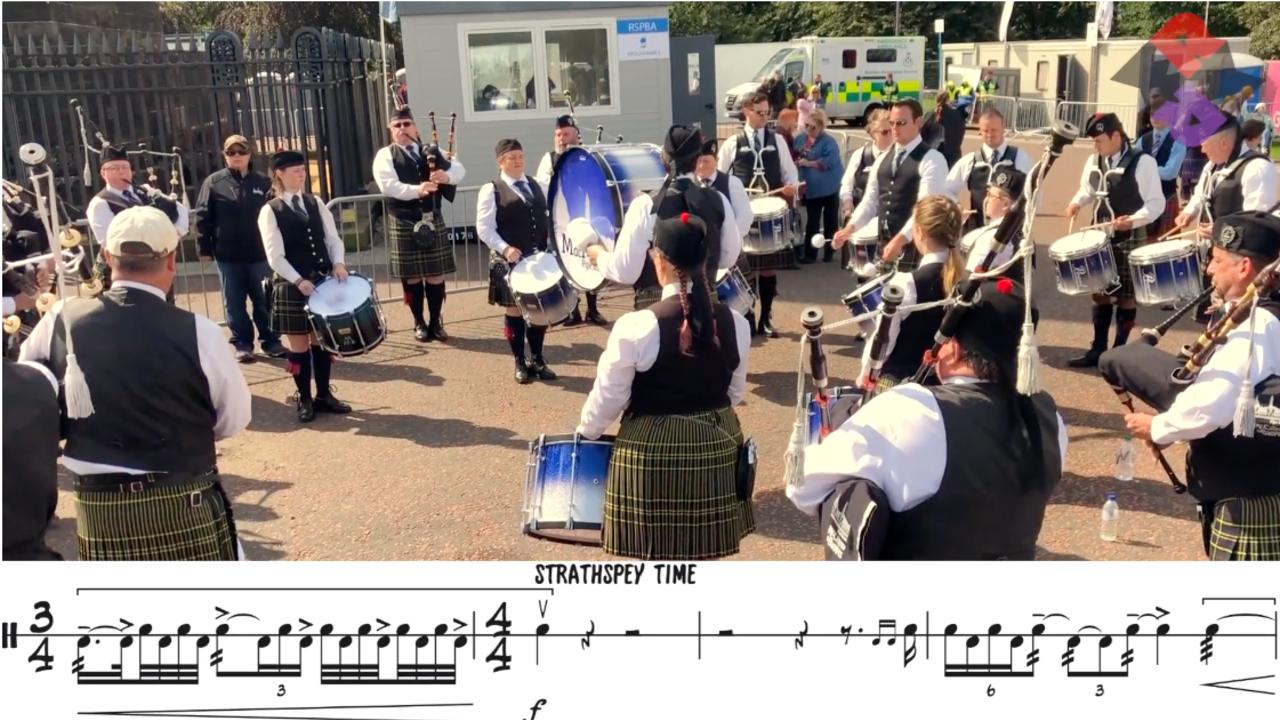 MacMillan Grade 2 Pipe Band Medley WPBC 2019