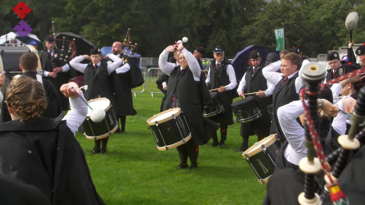 ScottishPower Pipe Band Fri. MSR Worlds 2019