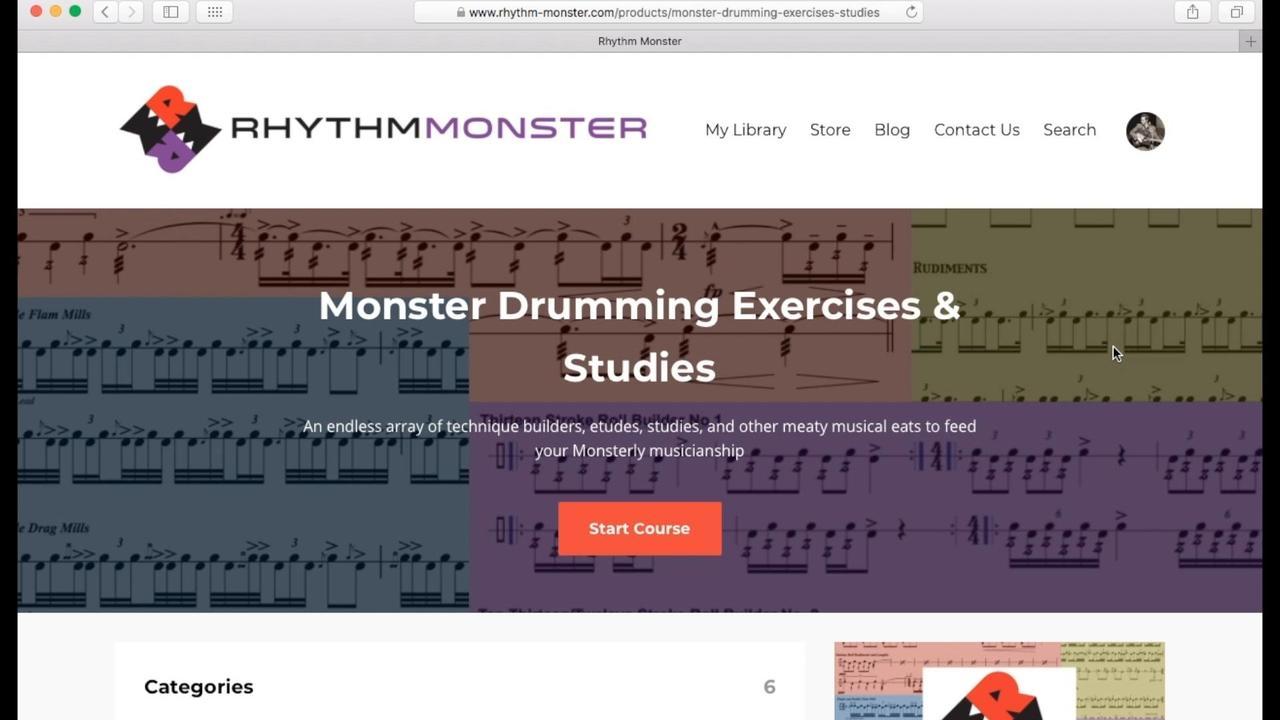 Monster Exercises & Studies Tour
