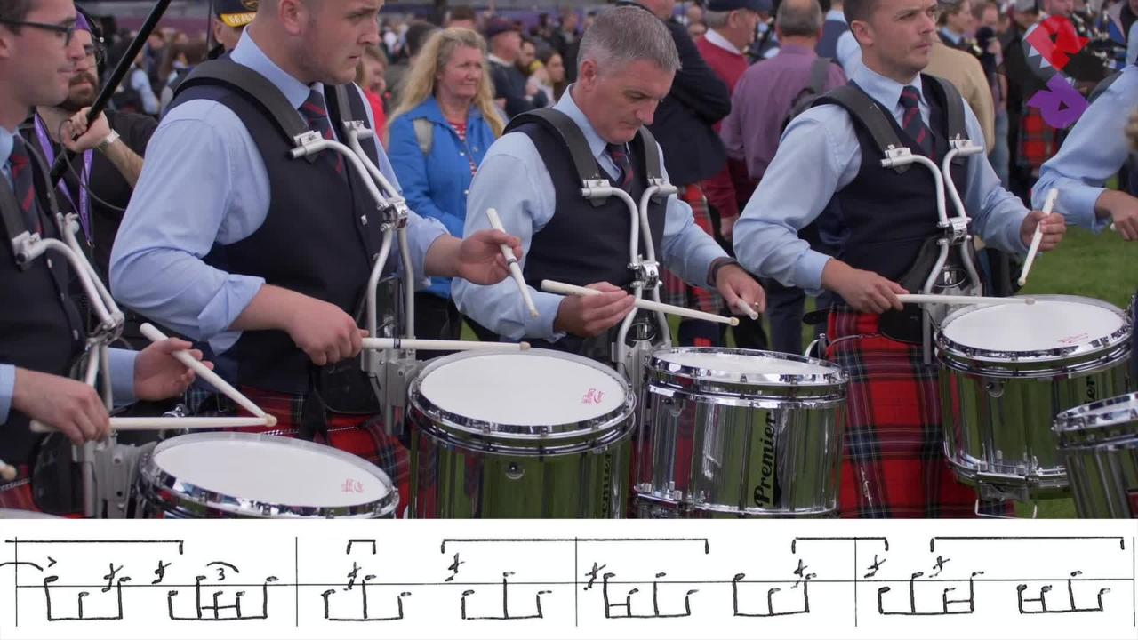 FMM Pipe Band Drum Corps 2019 Fri. Medley (March, Jig) WPBC