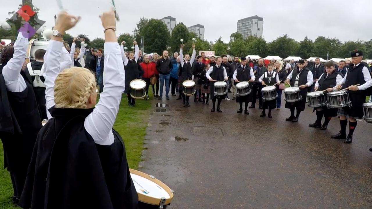 ScottishPower Drum Corps MSR WPBC 2018