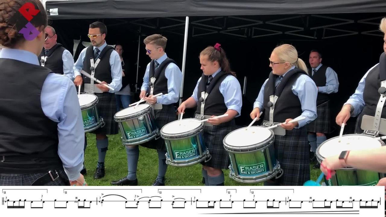 Highland Granite Drum Corps Scott Niven 2019 Medley WPBC