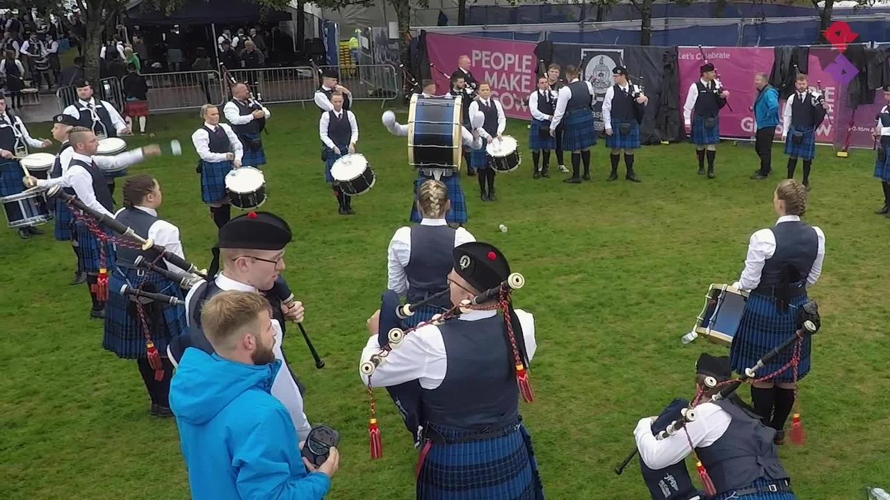 Johnstone Drum Corps Full Sat. MSR Worlds 2018