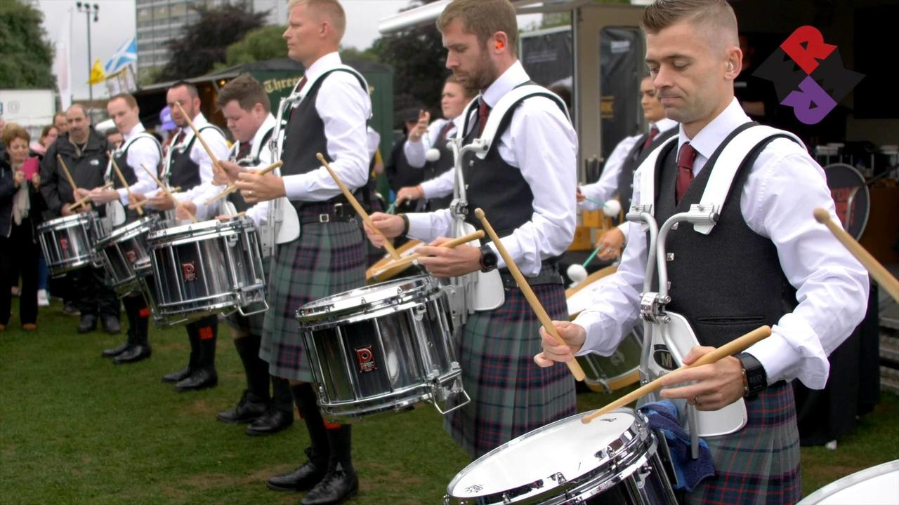 ScottishPower Drum Corps Drum Salute 2018