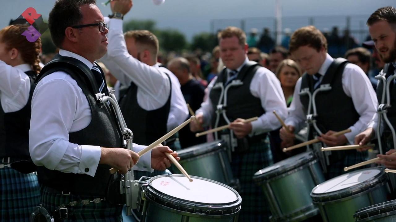Inveraray & District 2017 Pipe Band Drum Corps