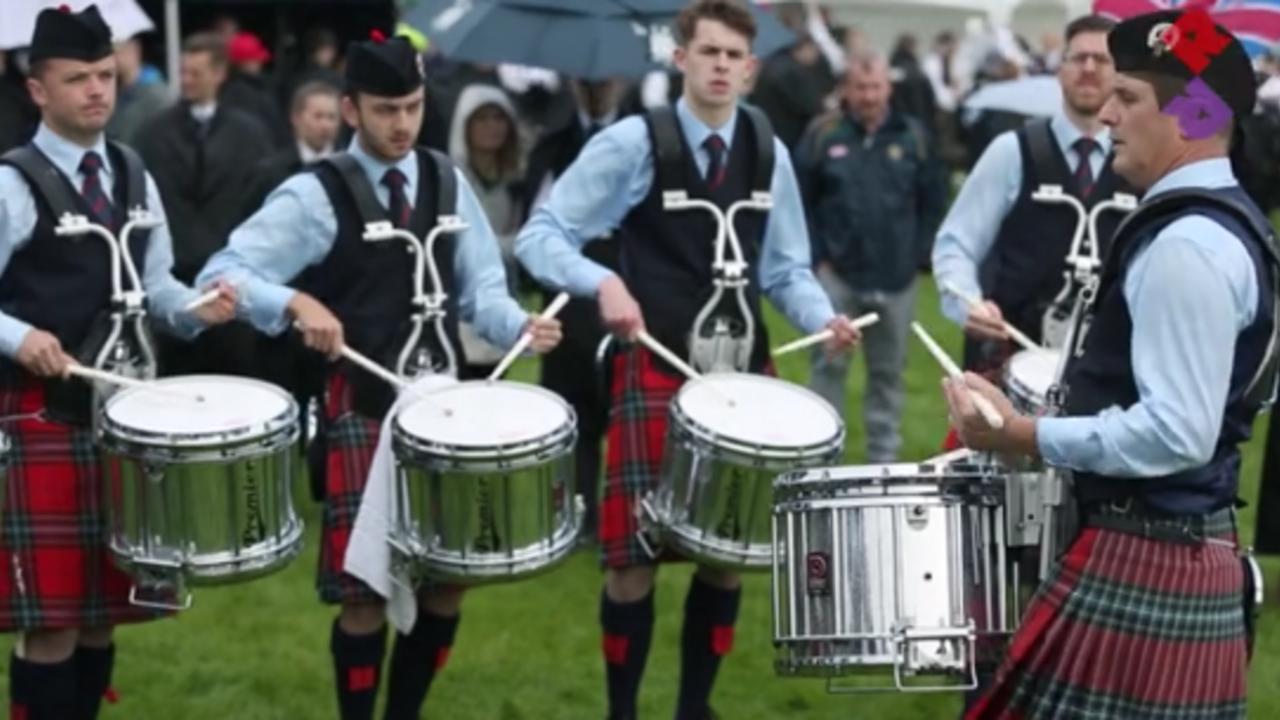 FMM Pipe Band Drum Corps 2019 Fri. MSR (Strathspey, Reel) WPBC