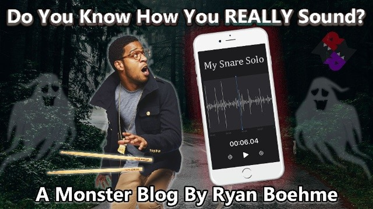 Do You Know How You REALLY Sound? - Ryan Boehme