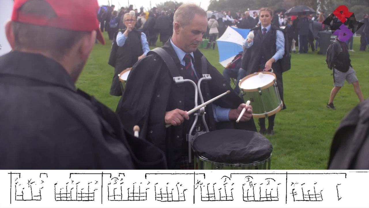 FMM Pipe Band Drum Corps 2019 Fri. MSR WPBC