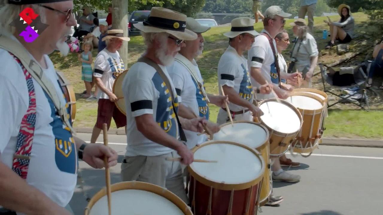 New York Ancients 2021 Deep River Parade
