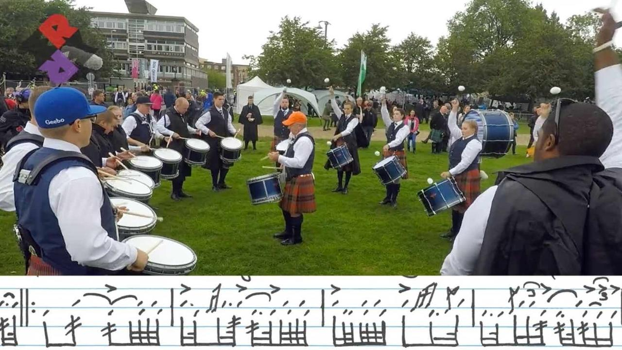 Scottish Pipe Band Drumming: A Fresh Look and a New Love of Drumming