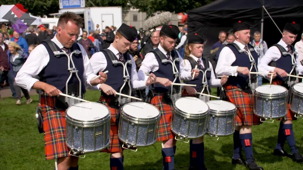 Glasgow Police Pipe Band 2019 WPBC Sat. MSR