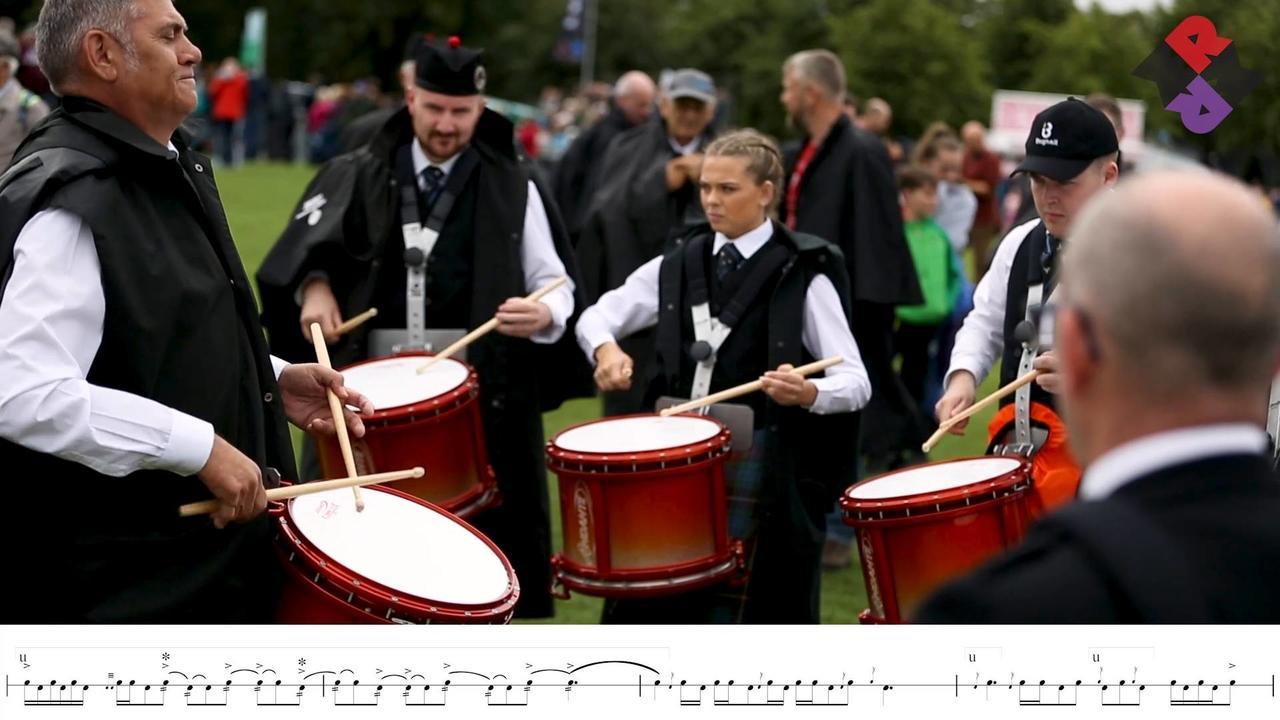 Boghall Drum Corps 2018 World Medley Jigs