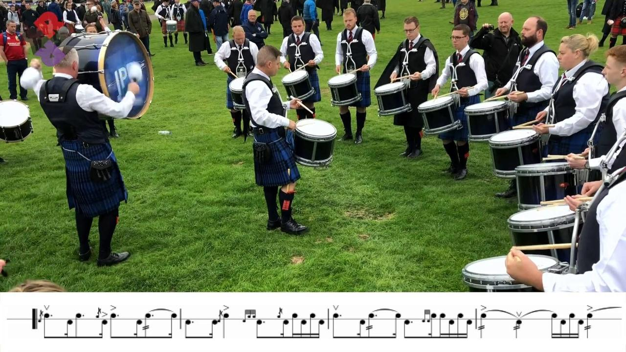Johnstone MSR World Pipe Band Championships 2018
