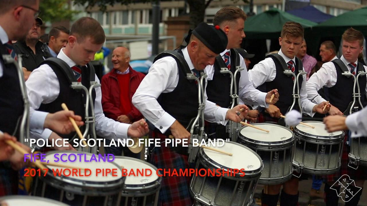 Police Fife Pipe Band Drum Corps