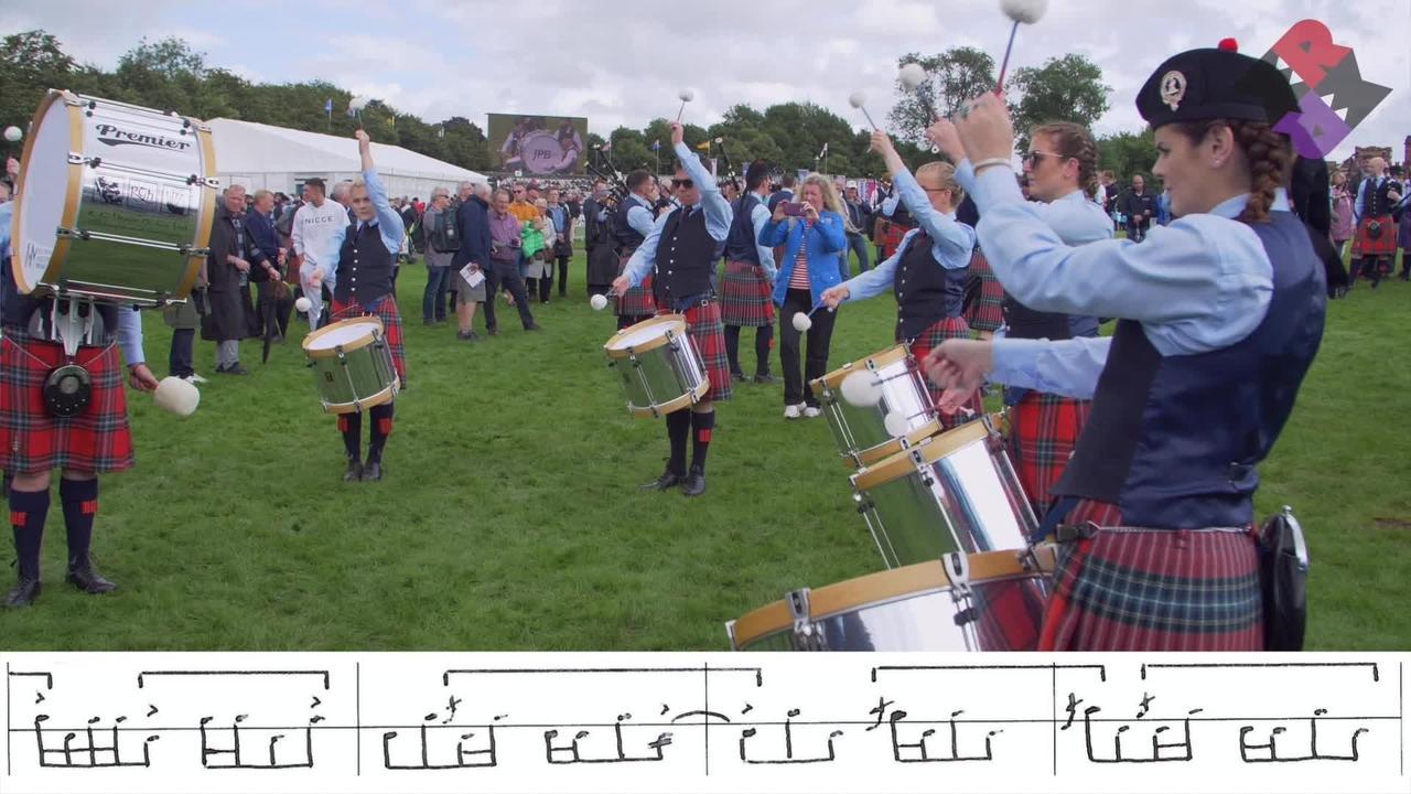 FMM Pipe Band Drum Corps 2019 Fri. Medley (Jig) WPBC