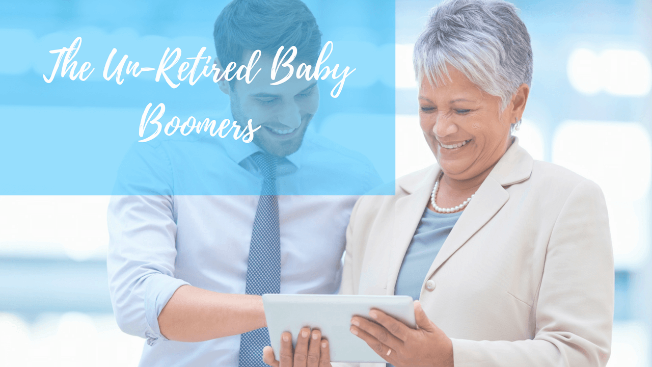 The Un-retired Baby Boomers
