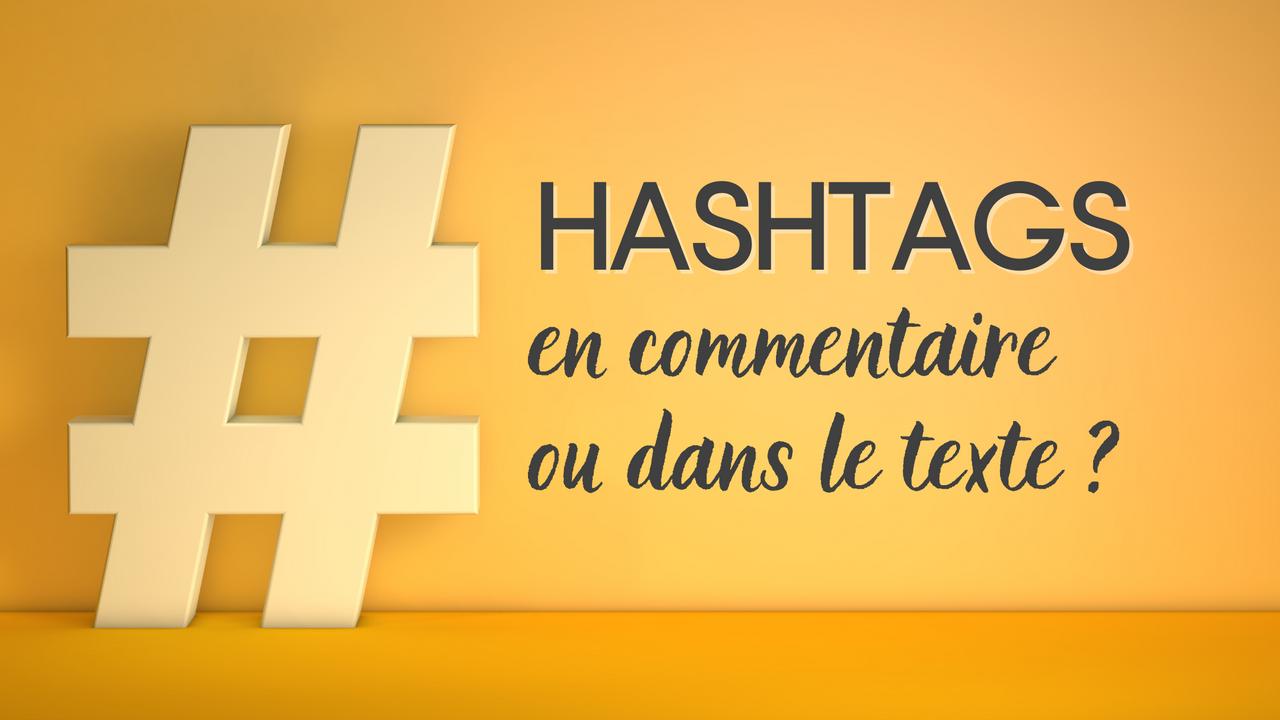 hashtags instagram commentaire