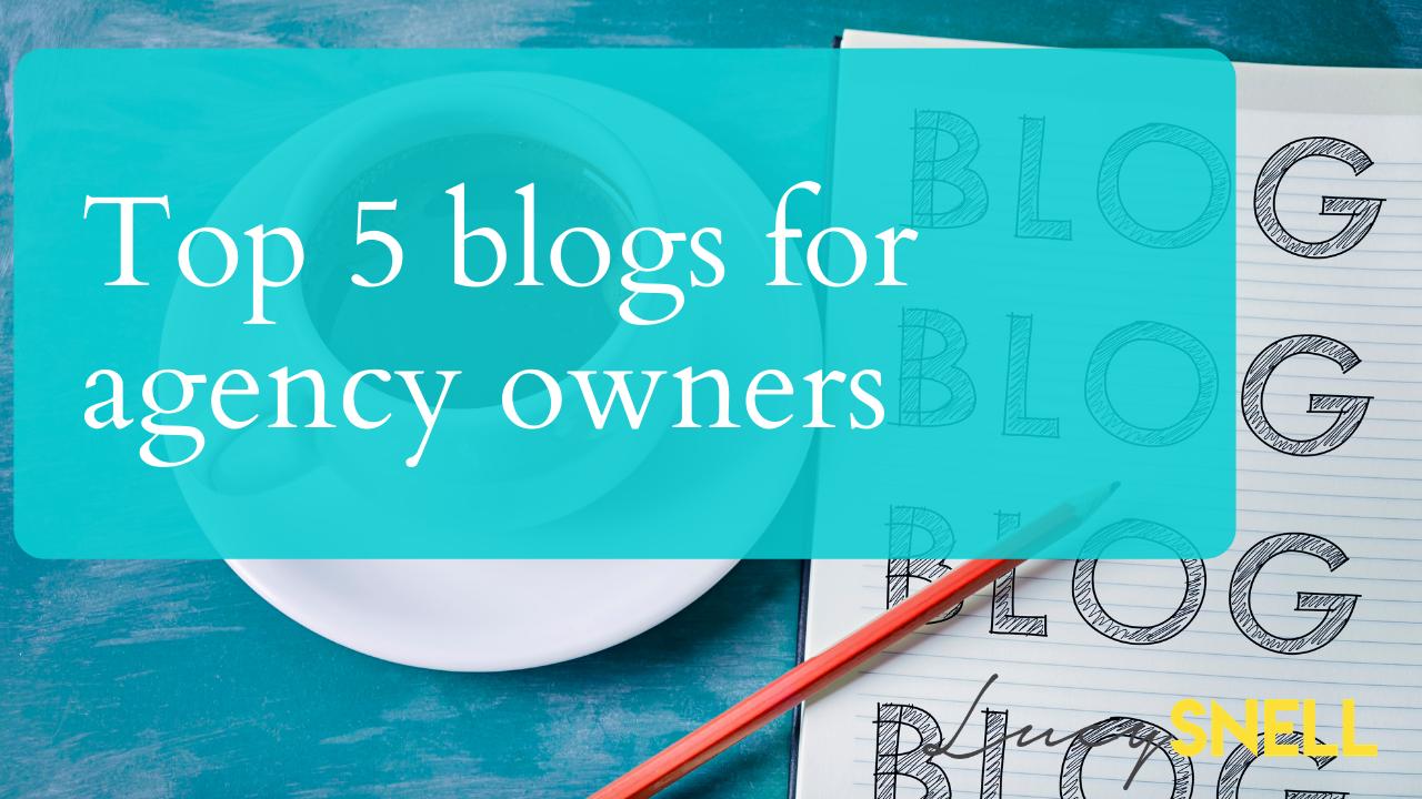 Agency Blogs