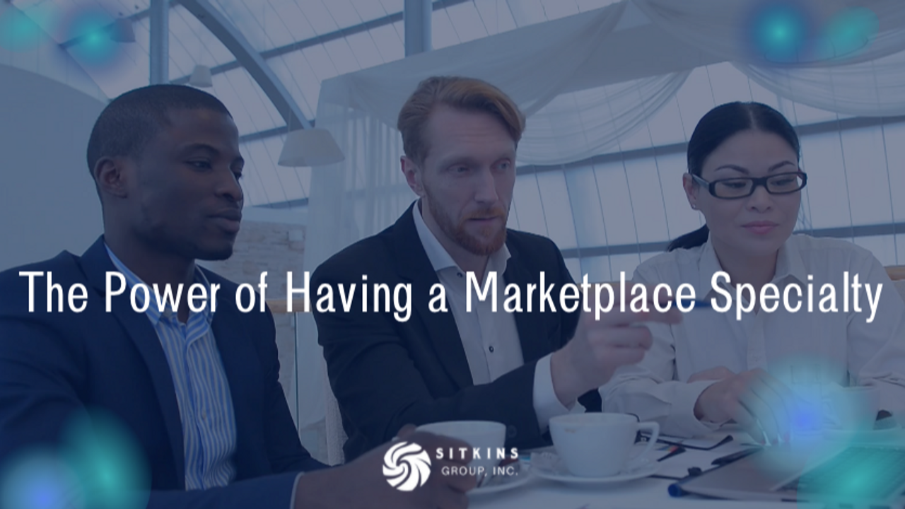 Agent meeting with clients from their marketplace niche