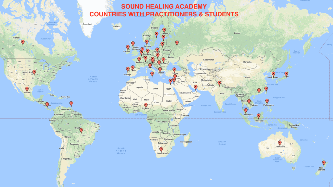 Integral sound healing is now global