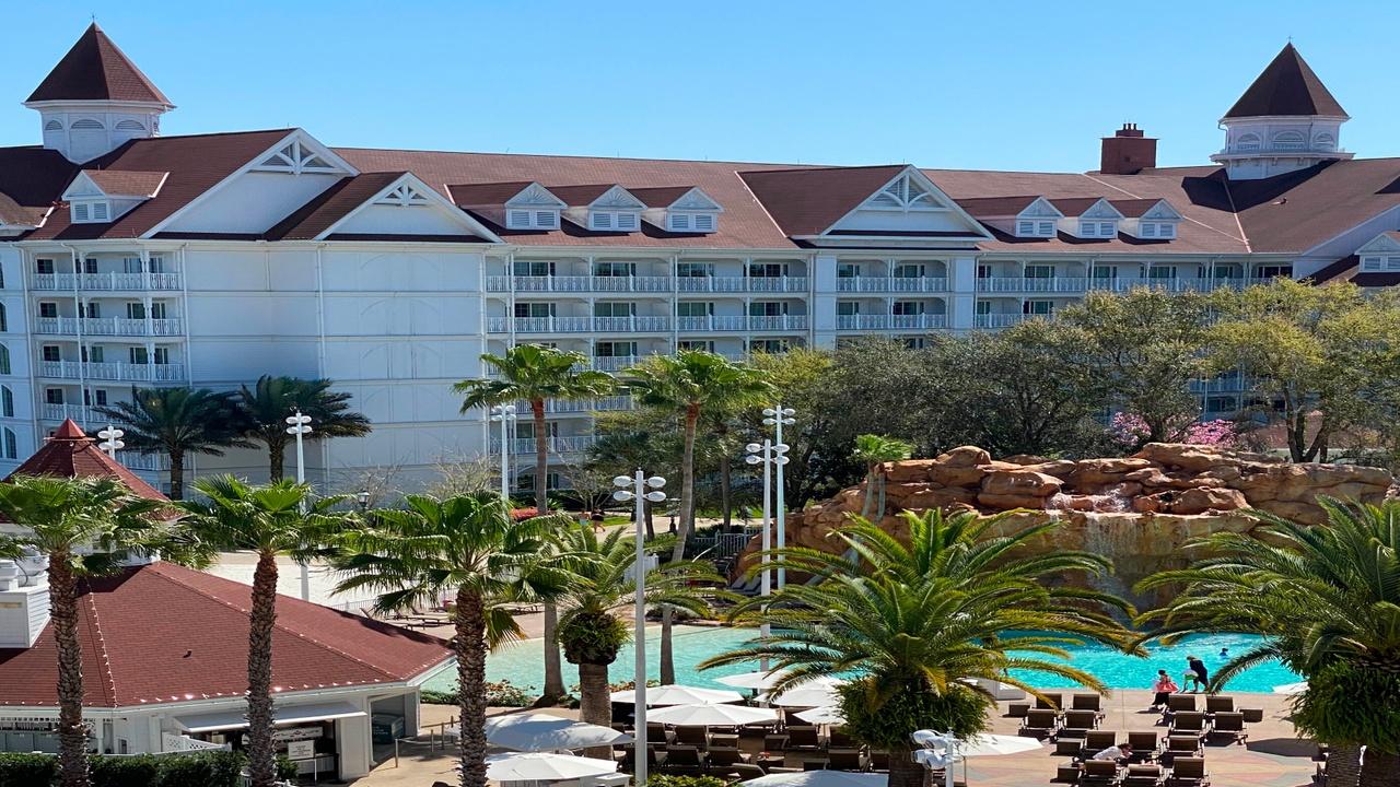 pool view at resort