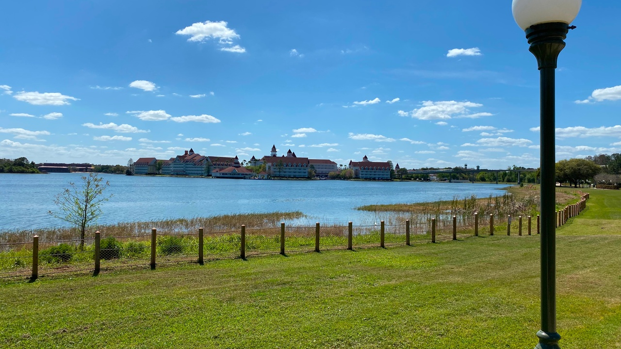 View of the Grand Floridian resort at Disney World