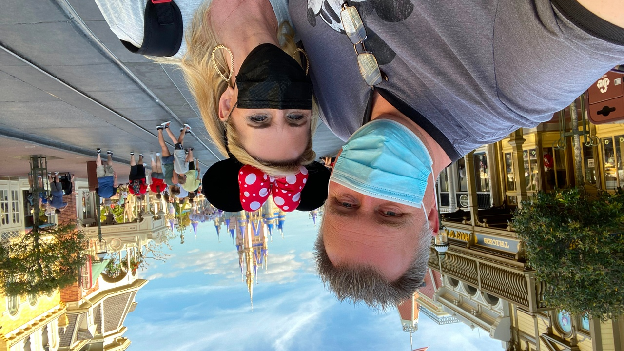 Mike & Shelly at Disney World