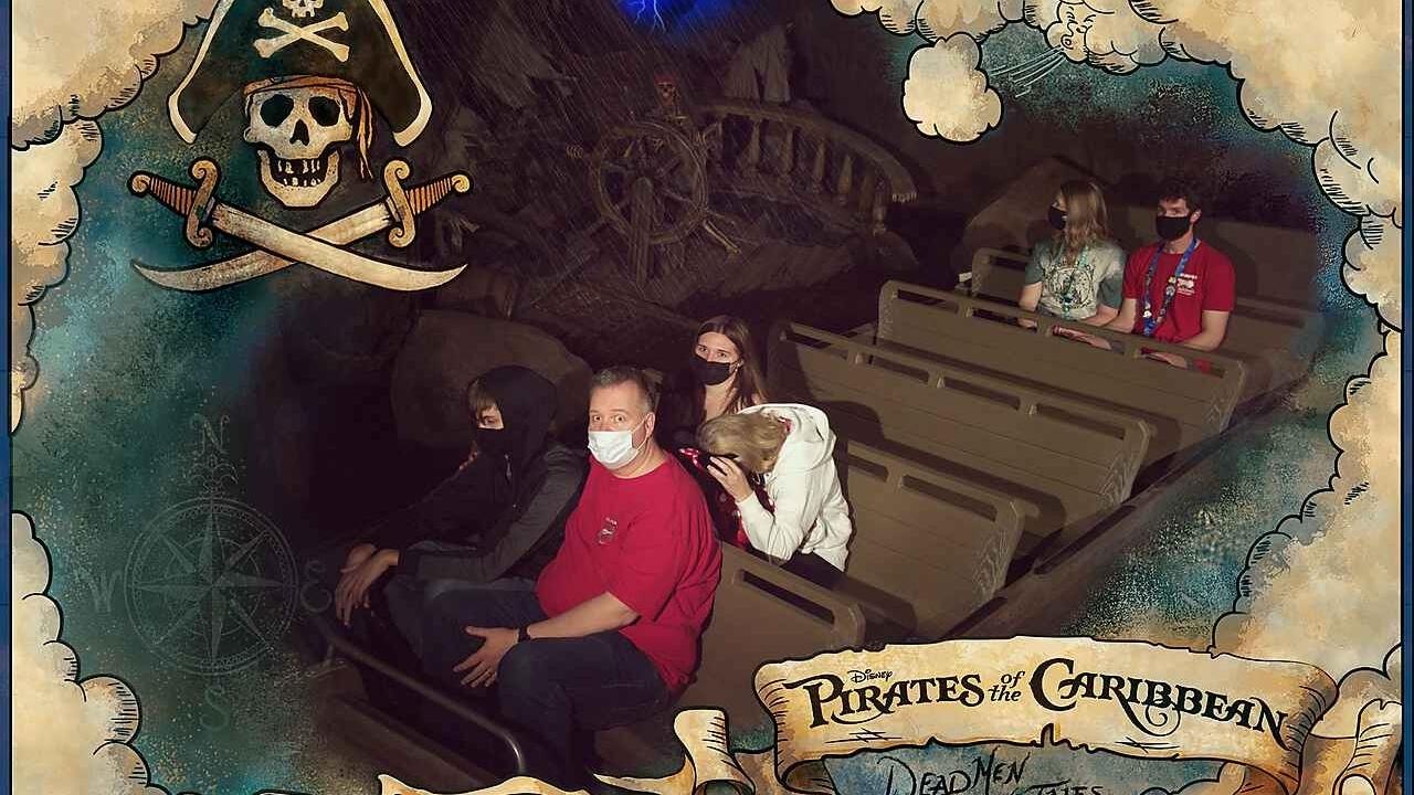 Pirates at Disney