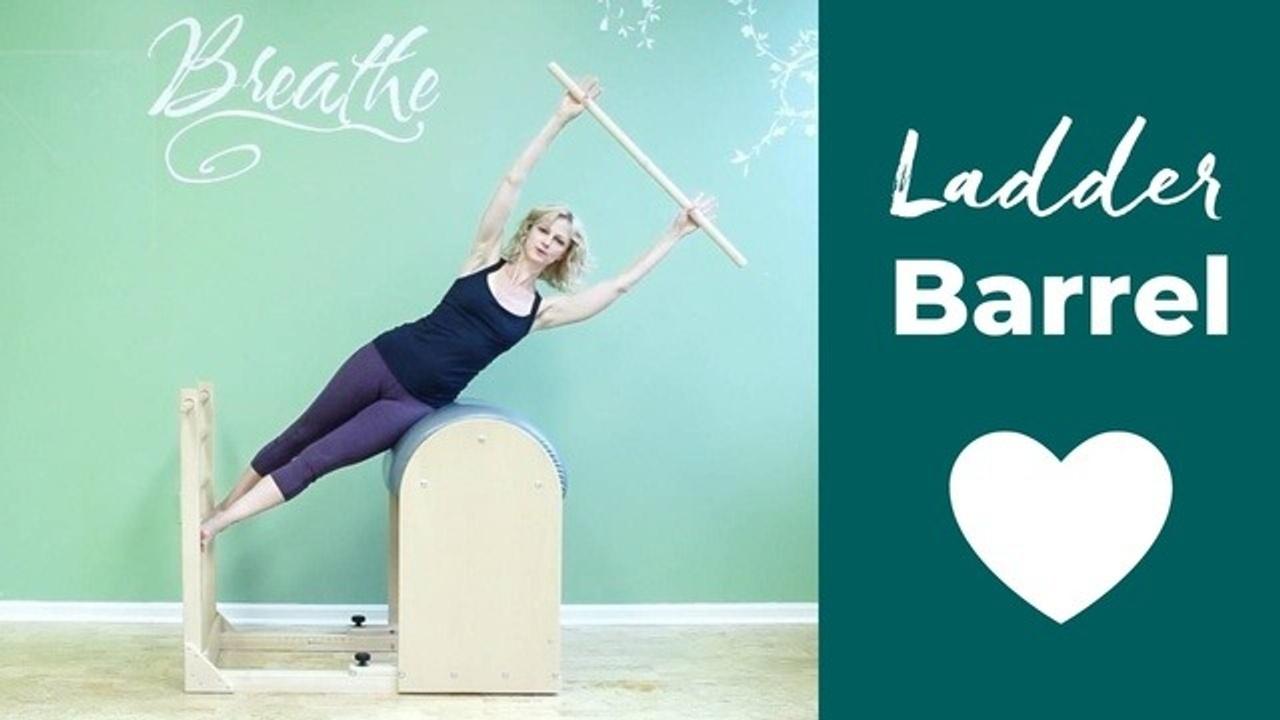 Ladder Barrel exercises