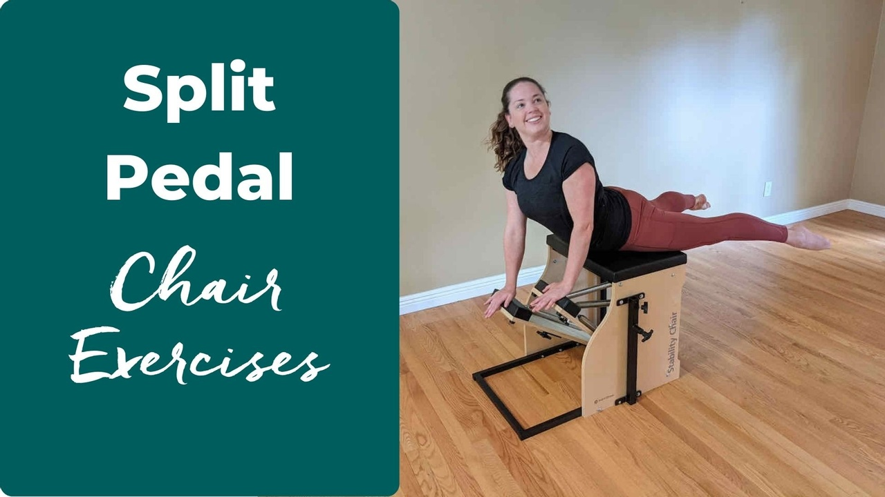 split pedal chair exercises