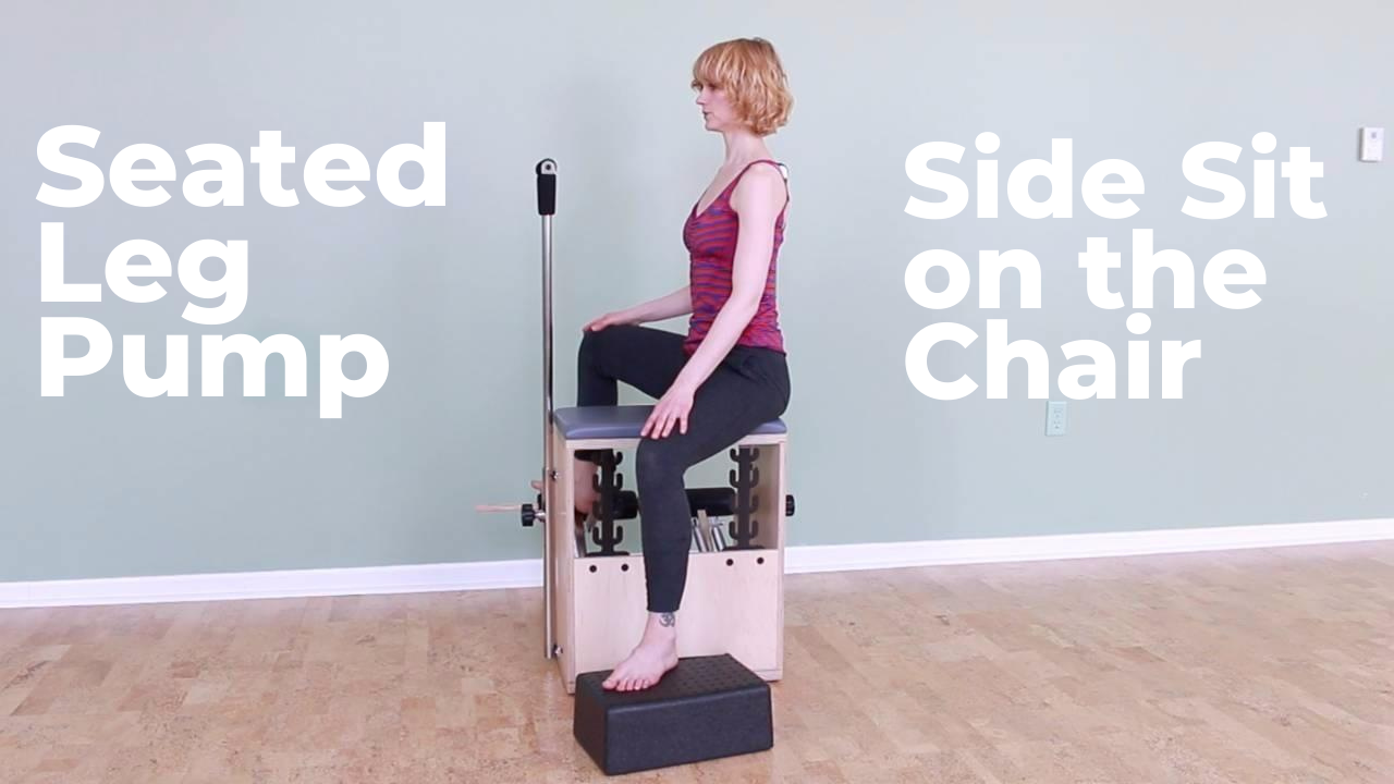 Improve Your Hip Mobility with Footwork Straddle on the Pilates Chair