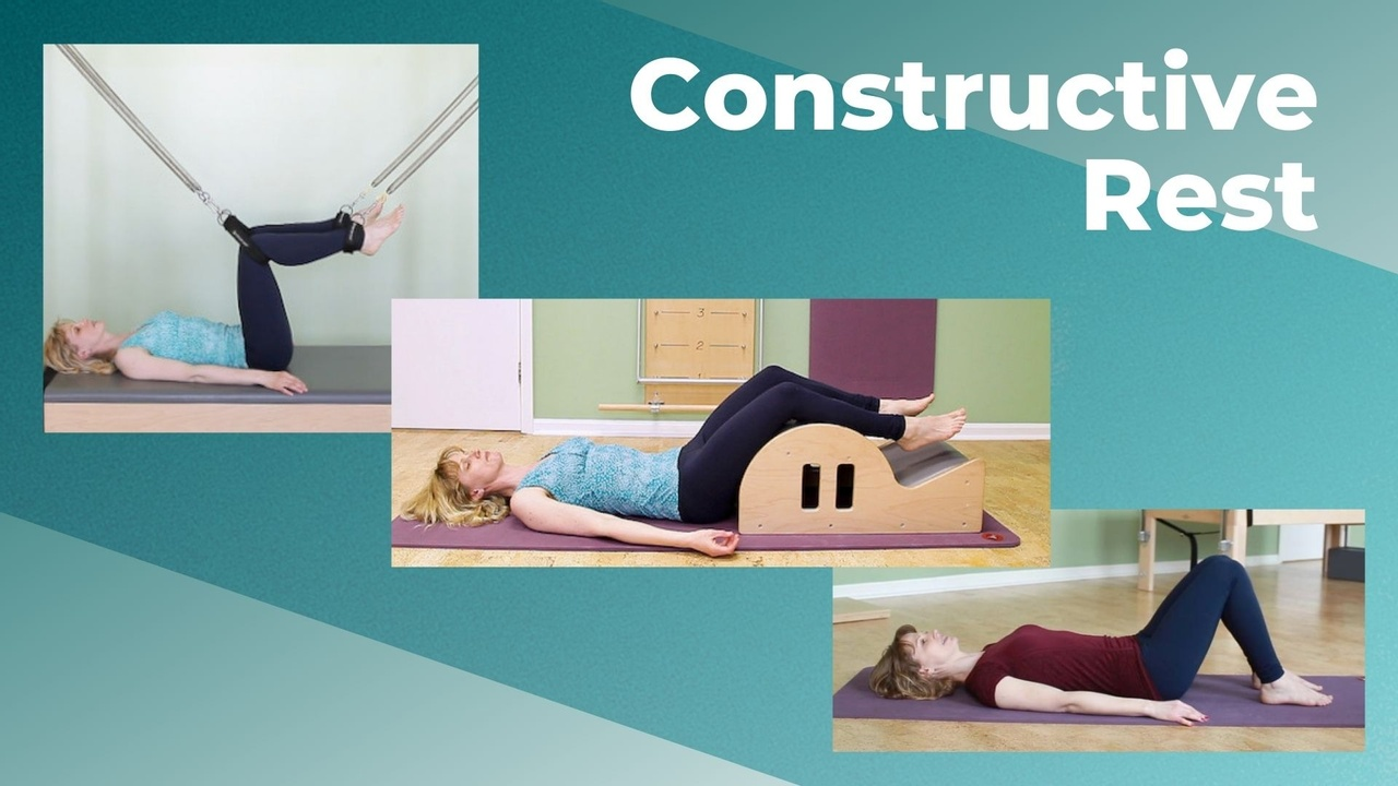 Constructive Rest Position | On the Mat, Spine Corrector and Cadillac