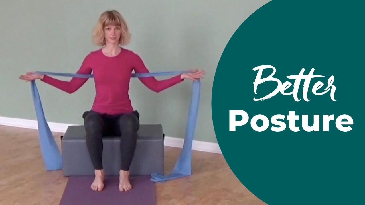 Improve Posture with the Thera-Band in Pilates