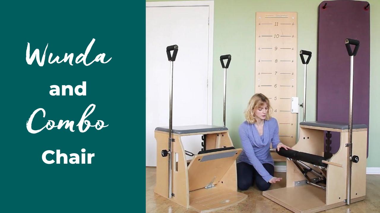Pilates Balanced Body Wunda Chair and Combo Chair
