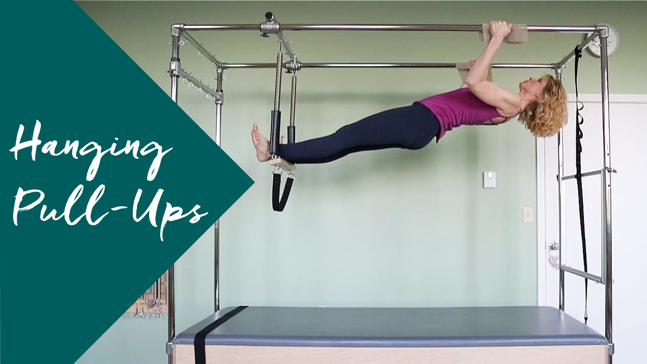 Keep Your Shoulders Safe in Hanging Pull-Ups on the Pilates Trapeze Table
