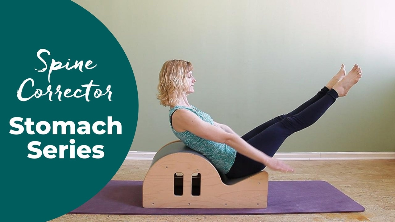 Pilates Stomach Series on the spine corrector