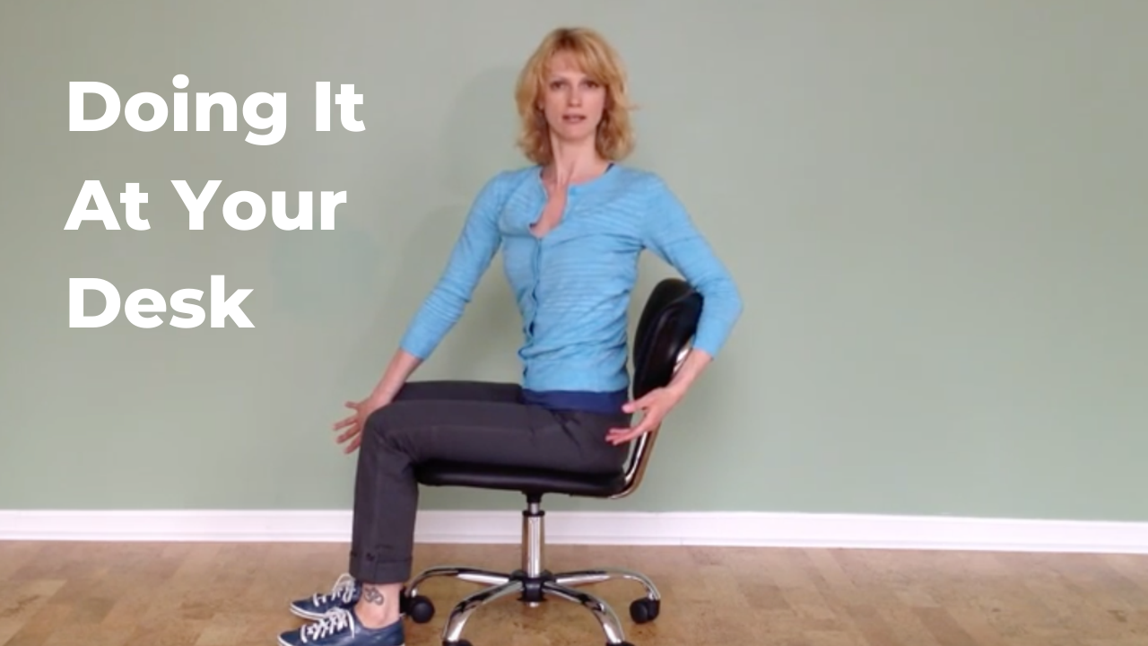Pilates Exercise At Your Desk
