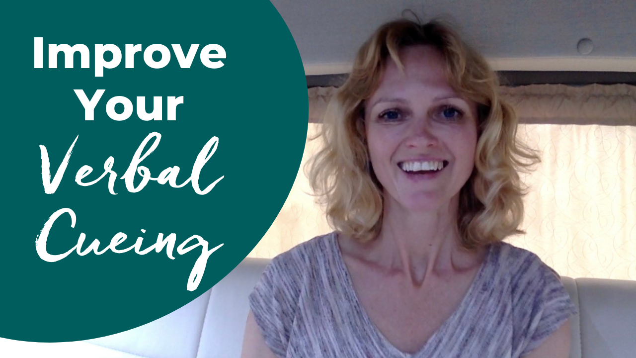 how to improve your verbal cueing in pilates