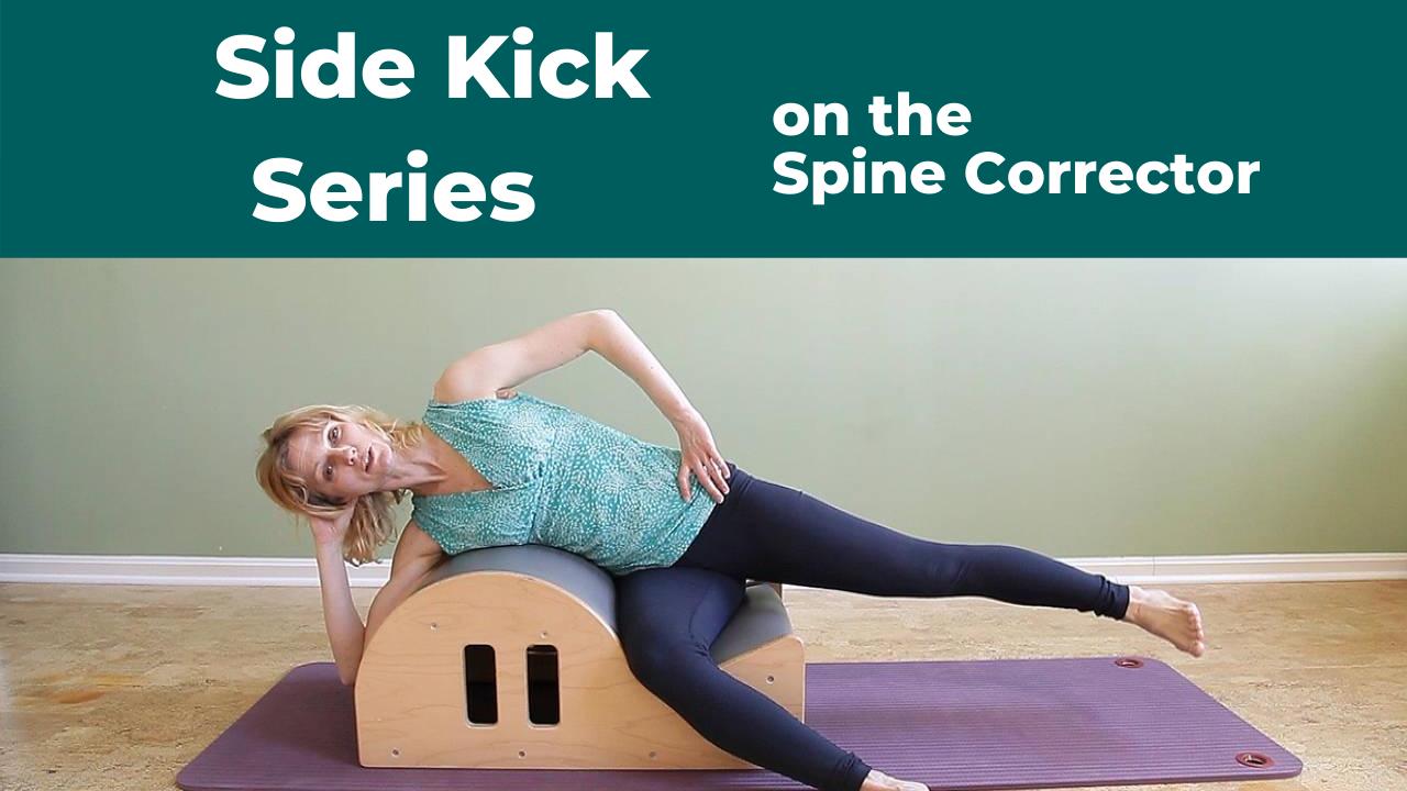 Side Kick Series on Pilates Spine Corrector