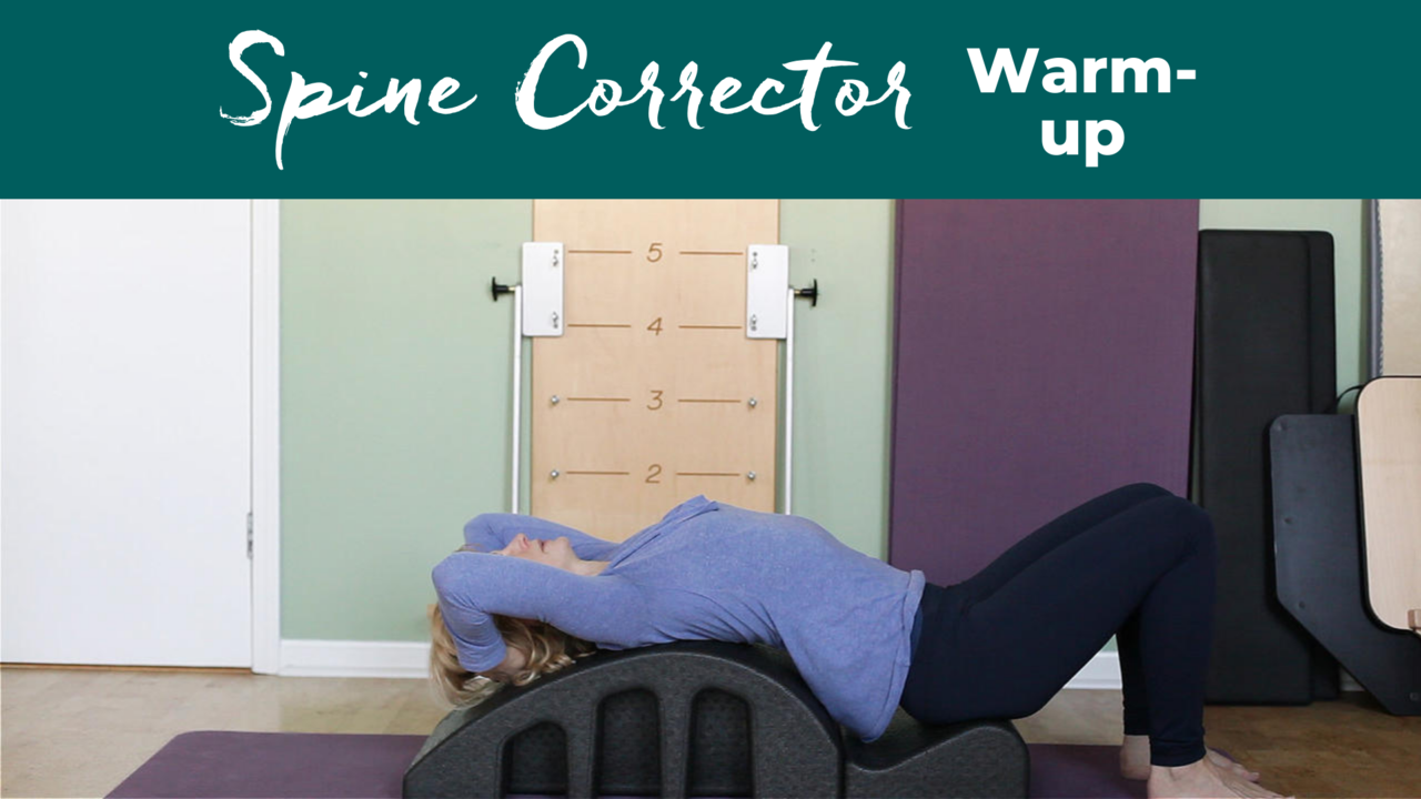 Pilates Spine Corrector Warm Up For Ribcage Mobility