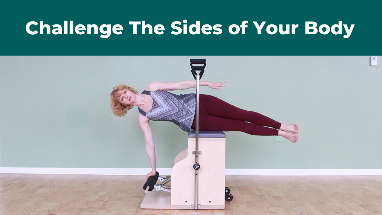 Side Balance To Challenge The Sides of Your Body in Pilates