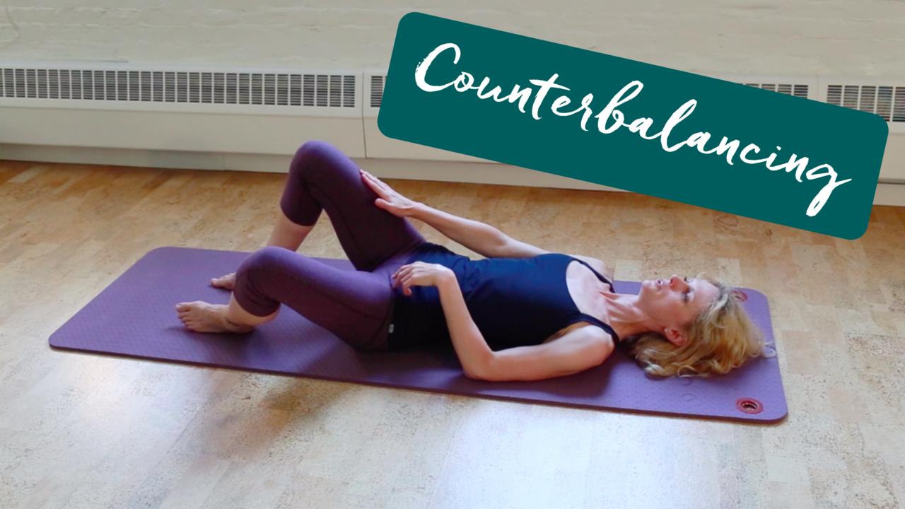 Pilates Counterbalancing to stay balanced