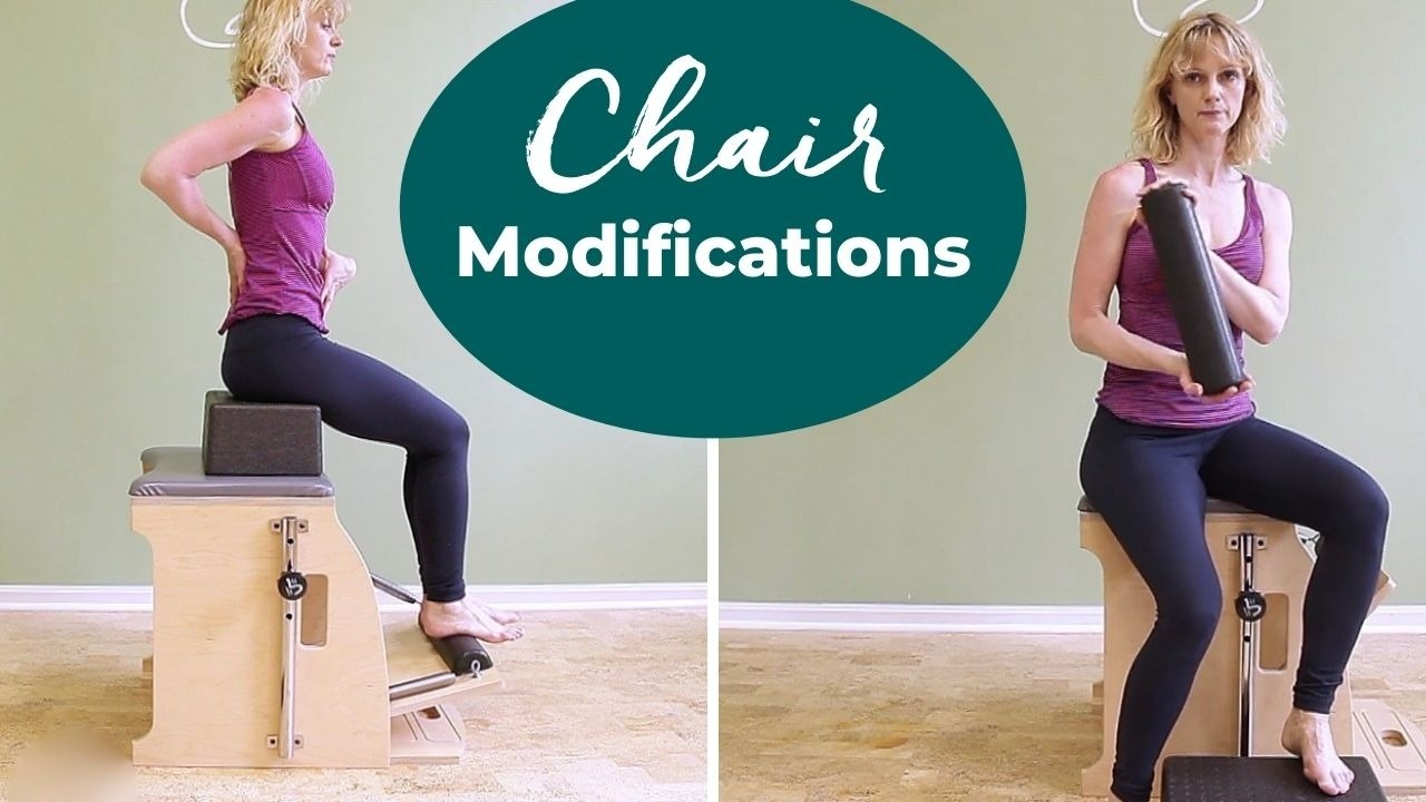 pilates chair modifications