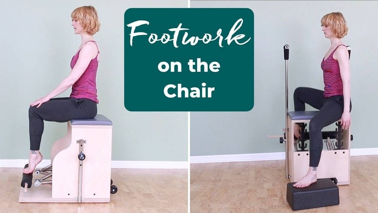 Footwork on the Pilates Chair