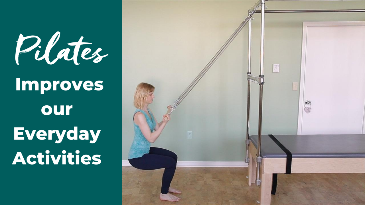 Pilates Squats on the Trapeze Table