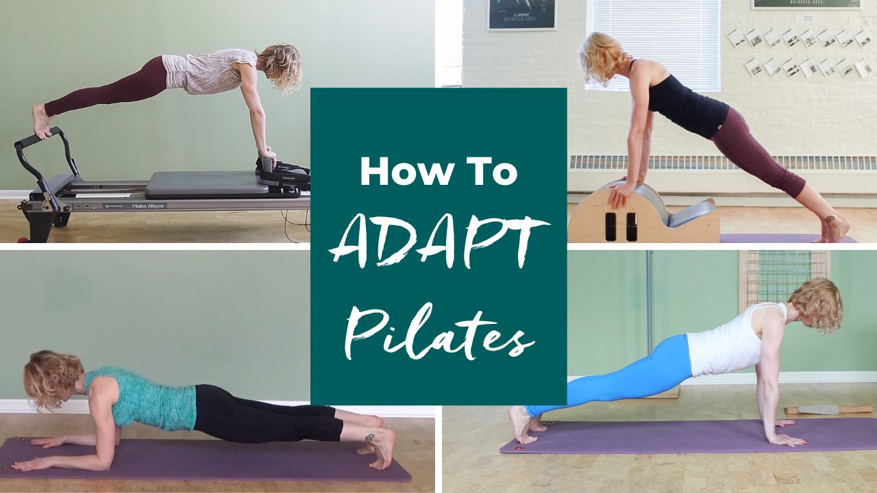 ADAPT Pilates Exercises